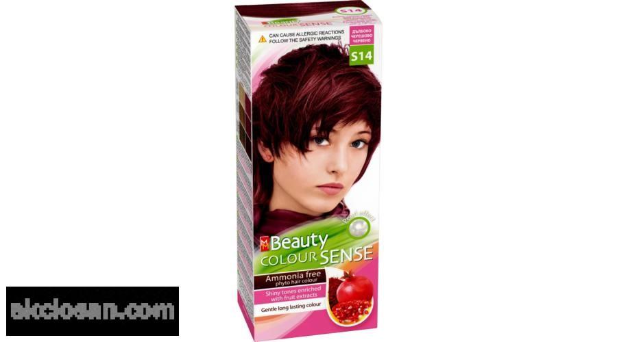 Beauty color sense S14 hajfesték mély meggypiros