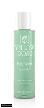 YELLOW ROSE - arclemosó gél teafa olajjal zsíros bőrre 200 ml