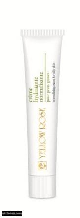 YELLOW ROSE - creme hydratante normalisante hidratáló és faggyútermelést szabályozó hatású arckrém zsíros bőrre 50 ml