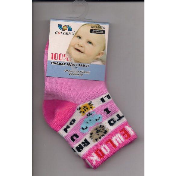 Golden's zokni bébi  több színben (GD9067C/GD9094C)