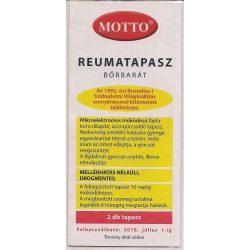 MOTTO reumatapasz bõrbarát (sárga)