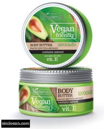 BIELENDA VEGAN FRIENDLY - avokádó tápláló hatású testápoló vaj 250 ml