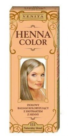 Henna color hajfesték 111 természetes szőke 75 ml
