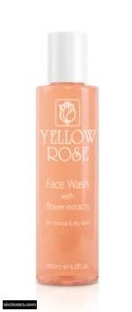 YELLOW ROSE - arclemosó gél virág kivonatokkal normál és száraz bőrre 200 ml