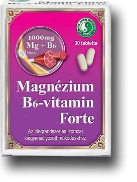 DR.CHEN MAGNÉZIUM B6-VITAMIN FORTE TABL. 30 db