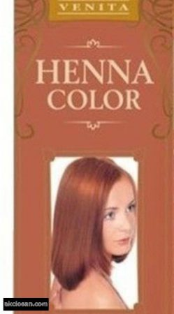 Henna Color hajszínezõpor 7 rézvörös 25g