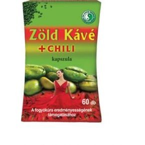 Dr.chen zöld kávé + chili kapszula 60db