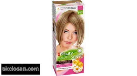 Beauty color sense S03 szahara szőke ammónia mentes növényi hajfesték