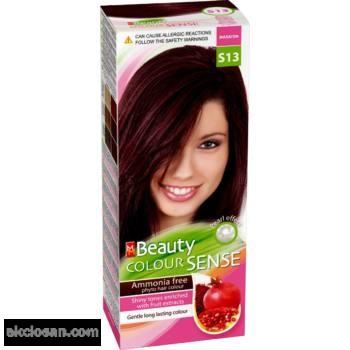 Beauty color sense S13 hajfesték mahagóni