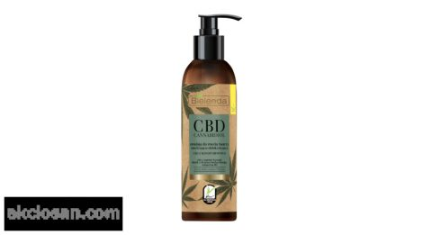 BIELENDA CBD CANNABIDIOL - hidratáló és detox hatású arclemosó emulzió zsíros és kombinált bőrre 150 g