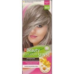 Beauty color sense S02 gyöngyház szőke ammónia ment.növ.hajfesték