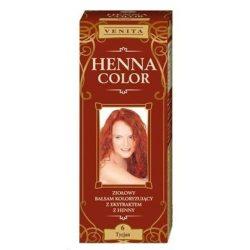 Henna color hajfesték 6 tizián vörös 75 ml