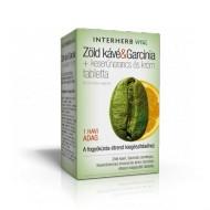 Zöld kávé&Garcinia tabletta 60 db