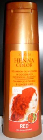 Henna color hajsampon gyógynövényes vörös hajra 250 ml