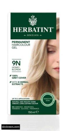 Herbatint természetes tartós hajfesték 9N (mézszőke) 150ml
