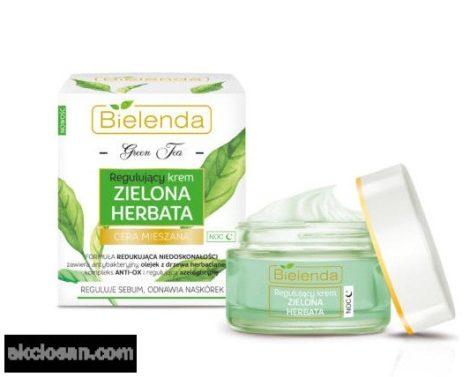 BIELENDA GREEN TEA - normalizáló hatású éjszakai arckrém 50 ml