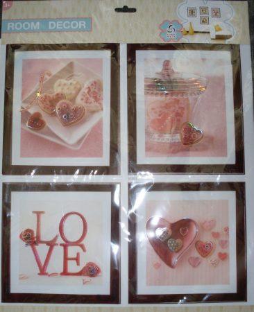 3D-s falmatrica VI-003 (love)