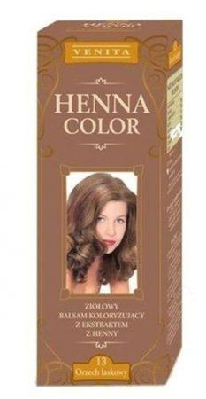 Henna color hajfesték 13 mogyoró barna 75 ml